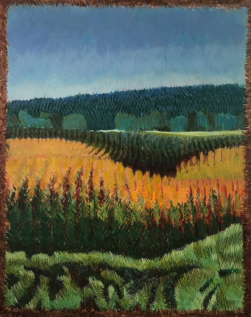 Corn Field by Jane Carr