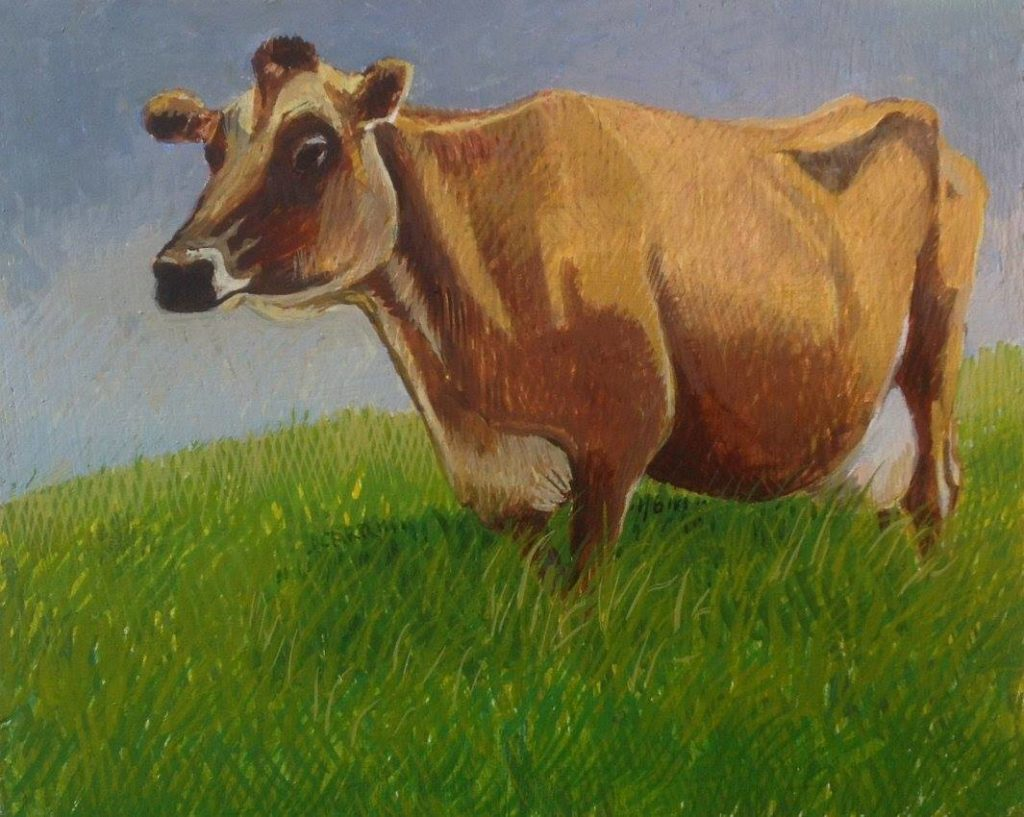 Cow 2 by Jane Carr