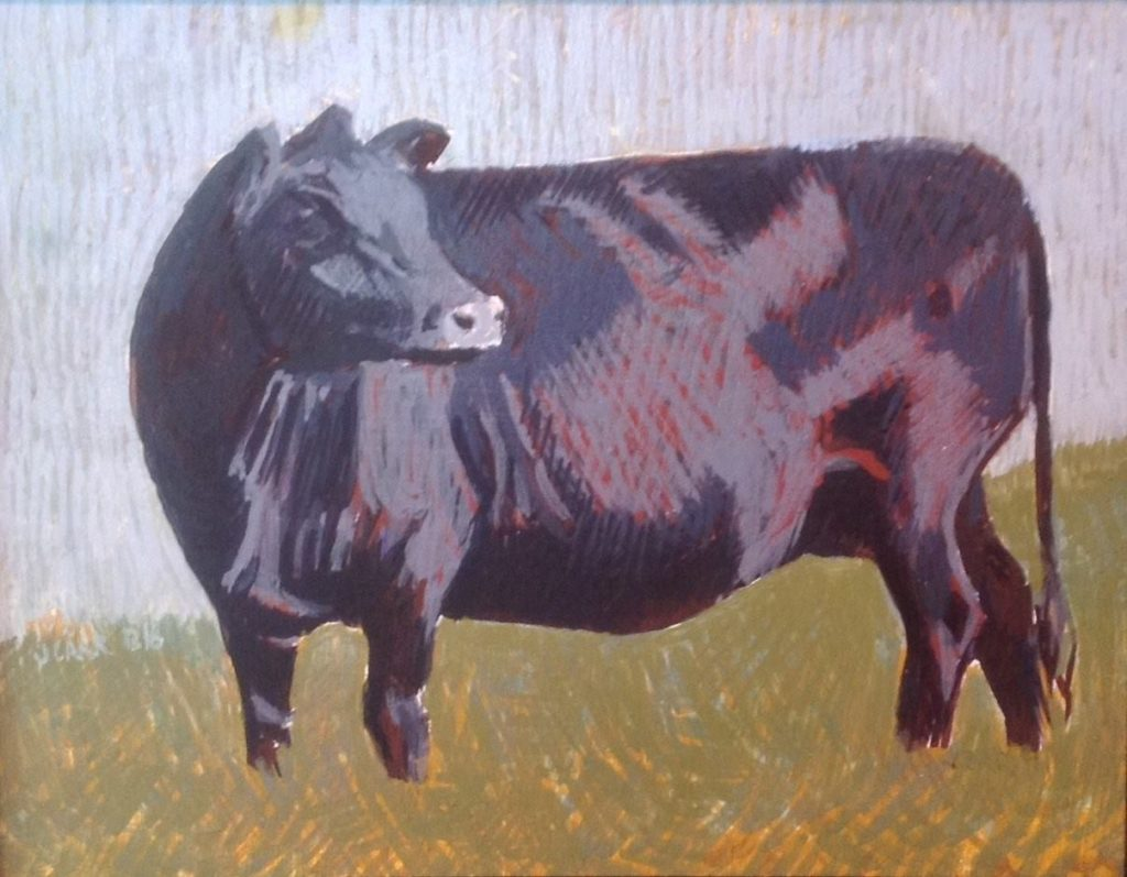 Cow 3 by Jane Carr