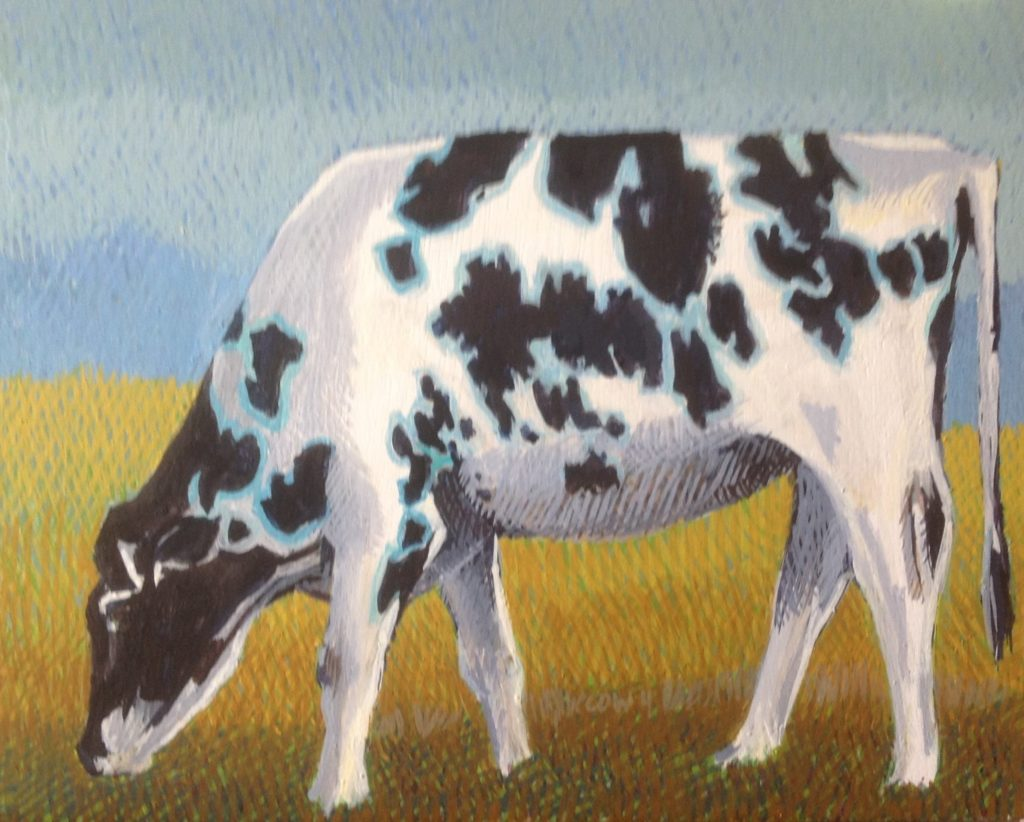 Cow 4 by Jane Carr