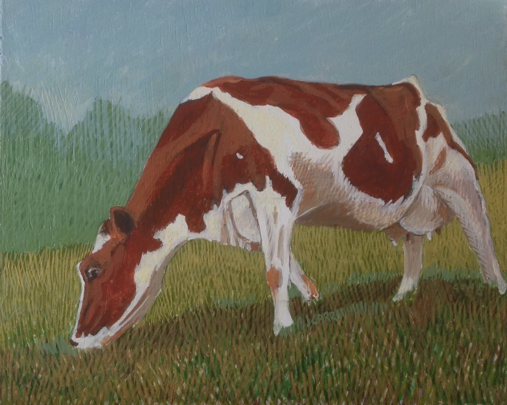 Cow 5 by Jane Carr