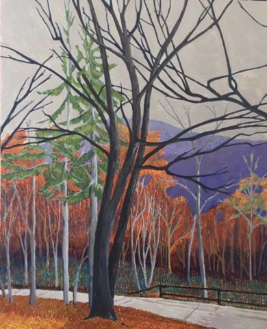 Ke's Trees by Jane Carr