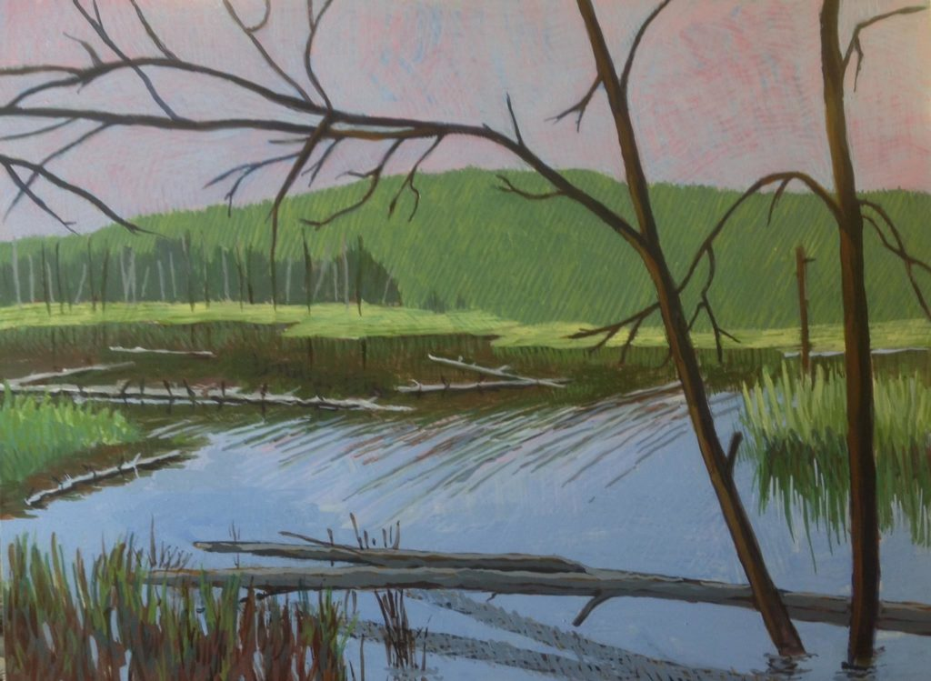 Marsh 2 by Jane Carr