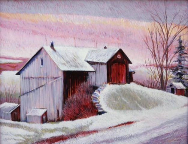 Rt 14 Barn by Jane Carr