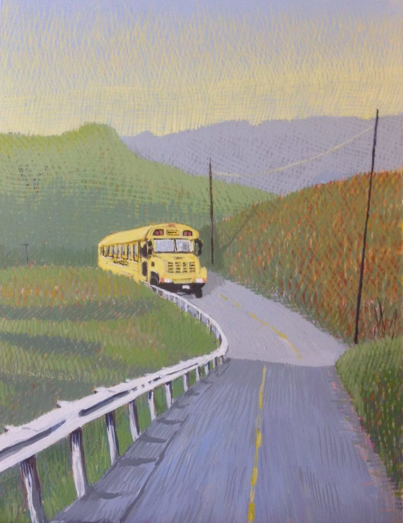 School Bus by Jane Carr