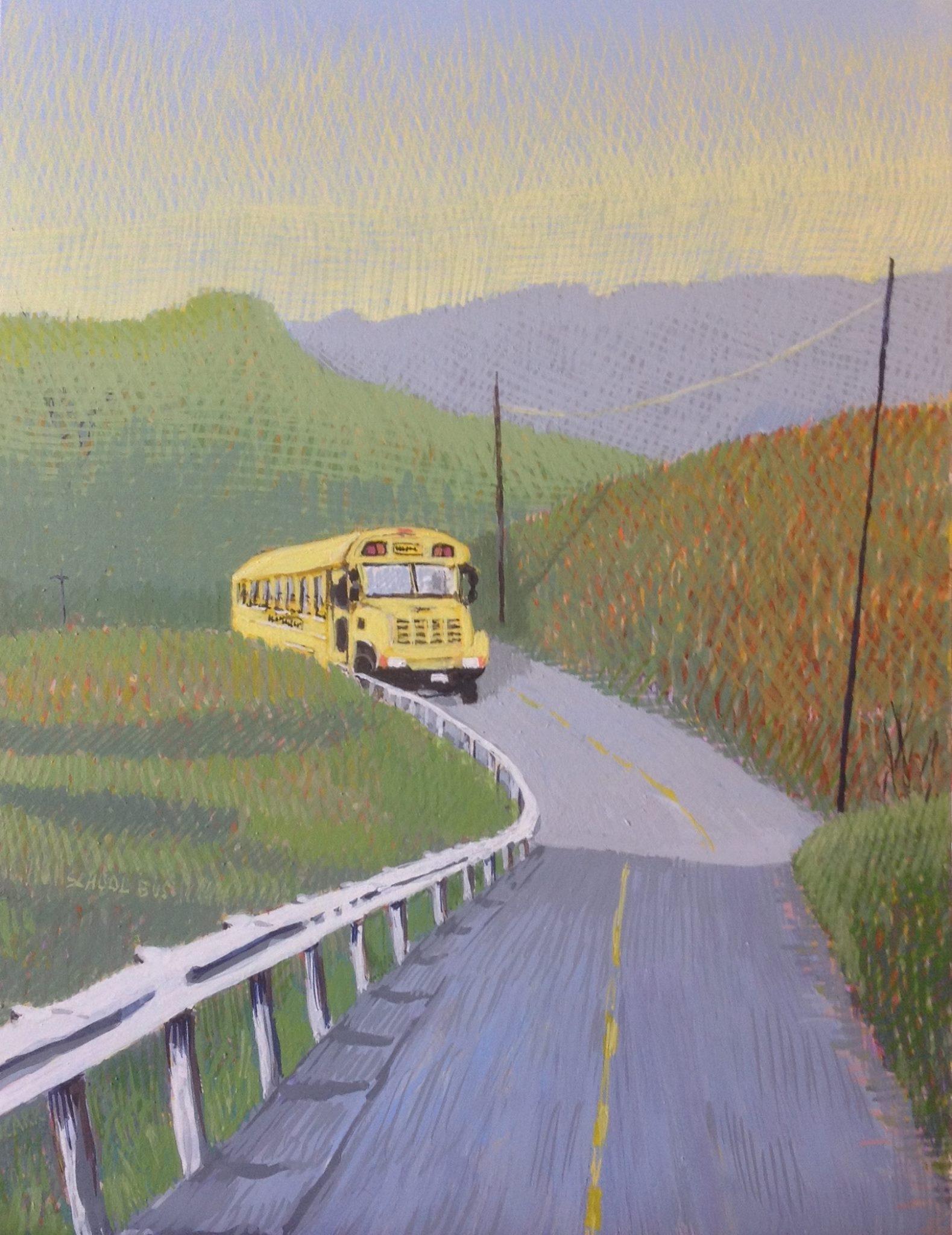 School Bus by Jane Carr