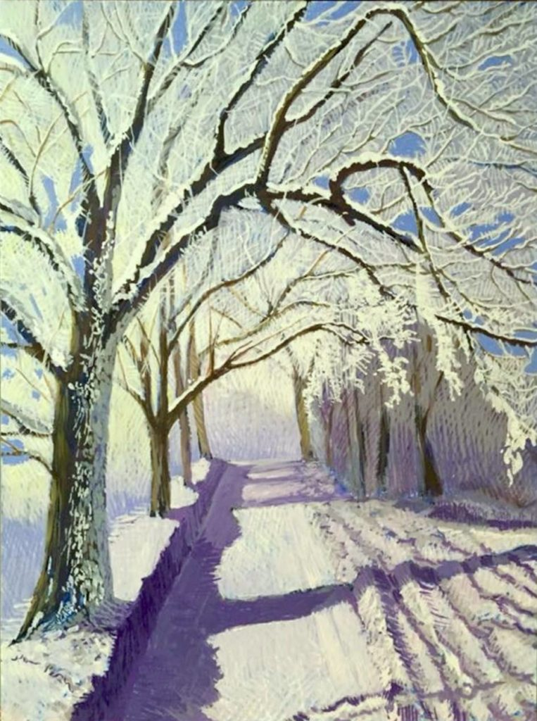 Snow Road by Jane Carr