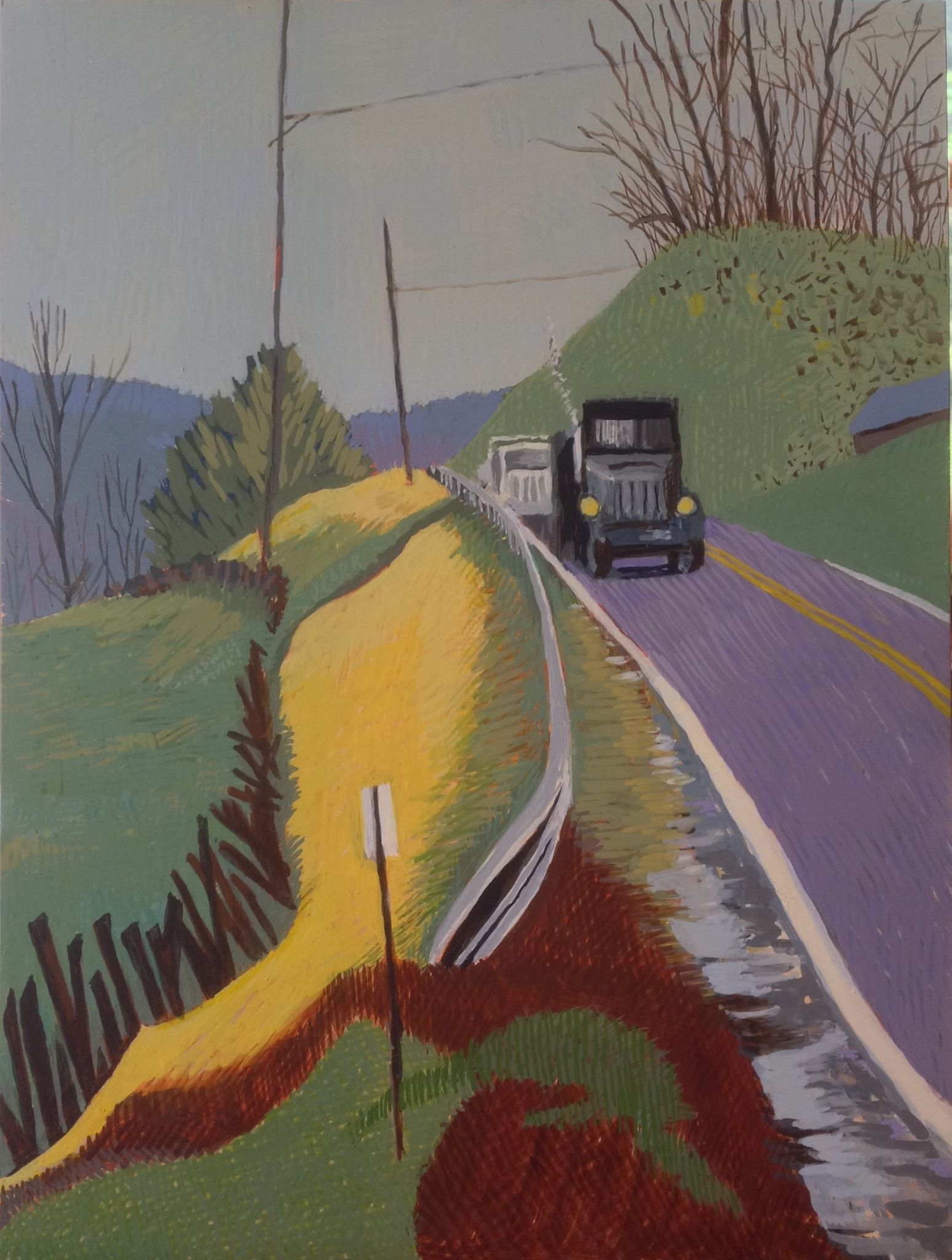Treadwell Truck 1 by Jane Carr