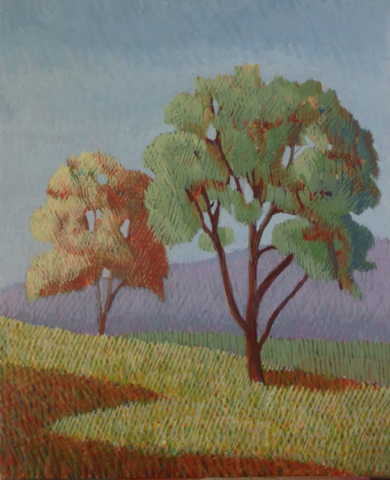 Two Trees by Jane Carr