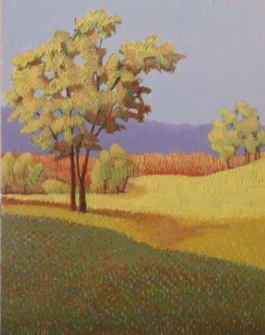 Yellow Tree by Jane Carr