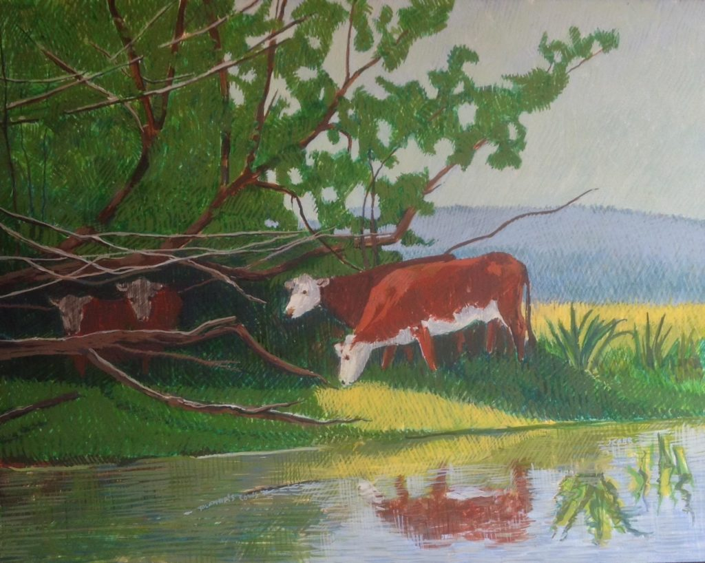 Yolanda's Cows by Jane Carr
