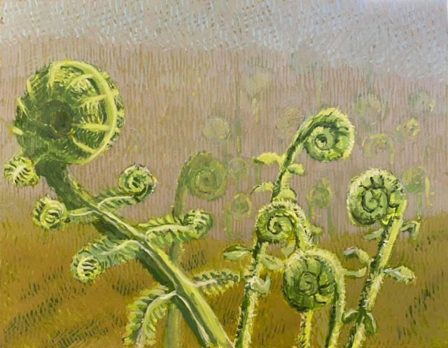 Fiddleheads by Jane Carr