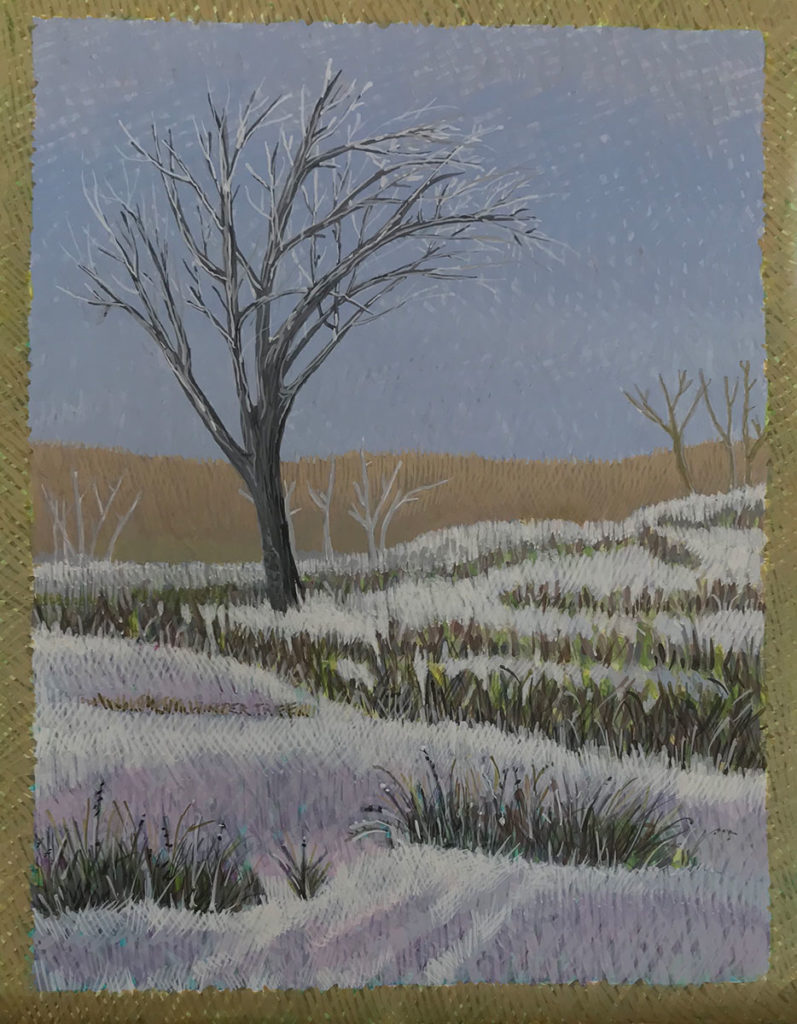 Winter Tree by Jane Carr