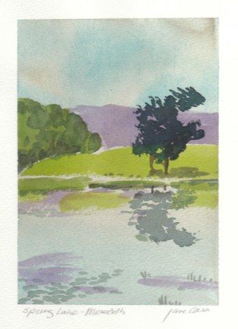 Spring Lake by Jane Carr